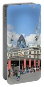 Building Work In The City Of London Portable Battery Charger