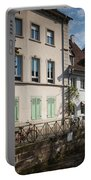 Buildings Along Canal, Altstadt Portable Battery Charger
