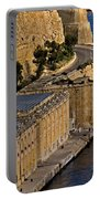 Buildings By The Mediterranean Sea Portable Battery Charger