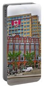 Buildings Near War Memoriall In Ottawa-on Portable Battery Charger