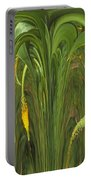 Bulbinella Latifolia Abstract Portable Battery Charger