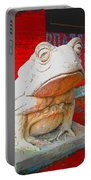 Bull Frog Painted Portable Battery Charger