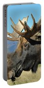 Bull Moose Profile Portable Battery Charger
