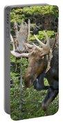 Bull Moose Shedding Velvet Portable Battery Charger