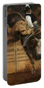 Bull Riding 1 Portable Battery Charger