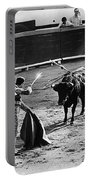 Bullfighter And The Lady Homage 1951 Bullfight Nogales Sonora Mexico Portable Battery Charger