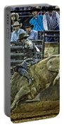 Bullriding Mania Portable Battery Charger