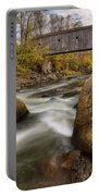 Bulls Bridge Autumn Square Portable Battery Charger