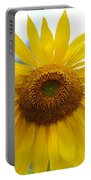 Bumble Bee And Sunflower Portable Battery Charger