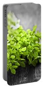 Bunch Of Fresh Oregano Portable Battery Charger