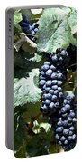 Bunch Of Grapes Portable Battery Charger by Heiko Koehrer-Wagner