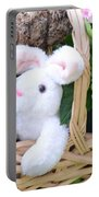 Bunny In A Basket Portable Battery Charger