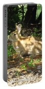 Bunny In The Wild 2 Portable Battery Charger
