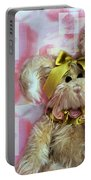 Bunny Rose Portable Battery Charger