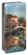 Burano Canal Venice Portable Battery Charger