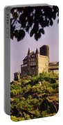 Burg Katze Castle On The Rhine Portable Battery Charger