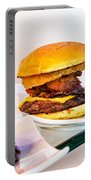 Burger Time Portable Battery Charger