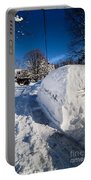Buried In Snow Portable Battery Charger