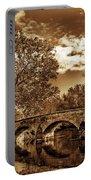 Burnside Bridge At Antietam - Toned Portable Battery Charger