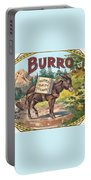 Burro Quality Of Cigars Label Portable Battery Charger