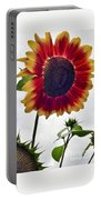 Burst Of Sunflower Portable Battery Charger