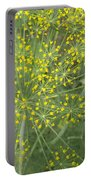 Bursting Dill Plant Portable Battery Charger