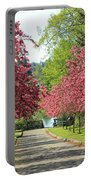 Bursting With Spring Portable Battery Charger