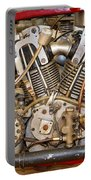 Burt Munro Special Indian Scout Engine Portable Battery Charger