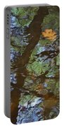 Second  Reflection In Bushkill Falls  Portable Battery Charger