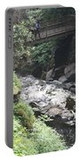 Bushkill Falls Stream Portable Battery Charger