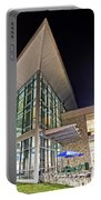 Business Building At Night Portable Battery Charger