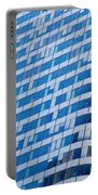 Business Skyscrapers Modern Architecture Portable Battery Charger by Michal Bednarek