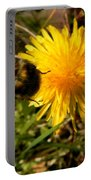 Bussy Bee And Dandelion Portable Battery Charger