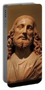 Bust Of Jesus Christ At Mfa Portable Battery Charger