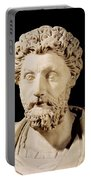Bust Of Marcus Aurelius Portable Battery Charger