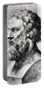 Bust Of Plato  Portable Battery Charger