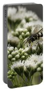 Busy Bee On White Portable Battery Charger