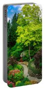 Butchart Gardens Pathway Portable Battery Charger