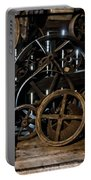 Butte Creek Mill Interior Scene Portable Battery Charger