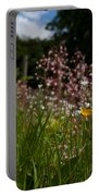 Buttercup And Wildflowers Portable Battery Charger