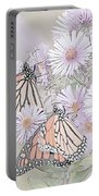 Butterflies And Bee Portable Battery Charger