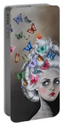 Butterflies In The Thoughts Portable Battery Charger
