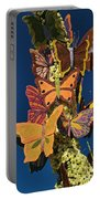 Butterflies On A 2015 Rose Parade Float 15rp047 Portable Battery Charger