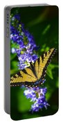 Butterflly Bush And The Swallowtail Portable Battery Charger