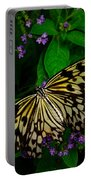 Butterfly - Yellow Green Purple Portable Battery Charger
