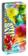 Butterfly Abstracted Portable Battery Charger