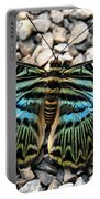 Butterfly Amongst Stones Portable Battery Charger