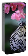 Butterfly And Blossoms Portable Battery Charger