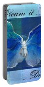 Butterfly Art - Dream It Do It - 99t02 Portable Battery Charger
