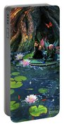 Butterfly Ball Pond Portable Battery Charger